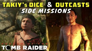 Find Takiy's Dice & Seek Out the Outcasts (The Hidden City Side Mission) - SHADOW OF THE TOMB RAIDER