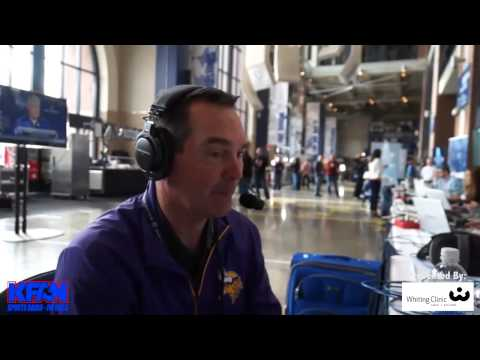 Vikings Head Coach Mike Zimmer stops by to chat with Paul Al