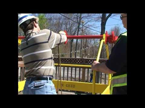 EMC Manhole Rescue Device Demo