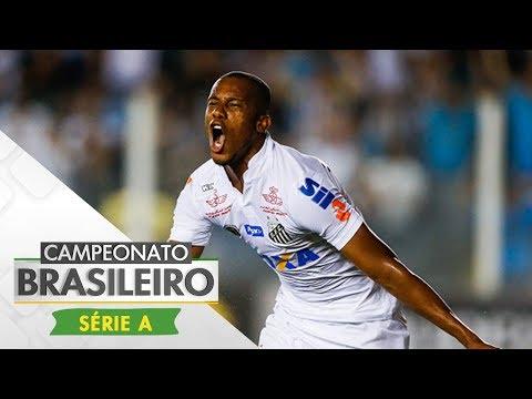 Melhores Momentos - Gols de Santos 3 x 2 São Paulo - Campeonato Brasileiro (09/07/2017)