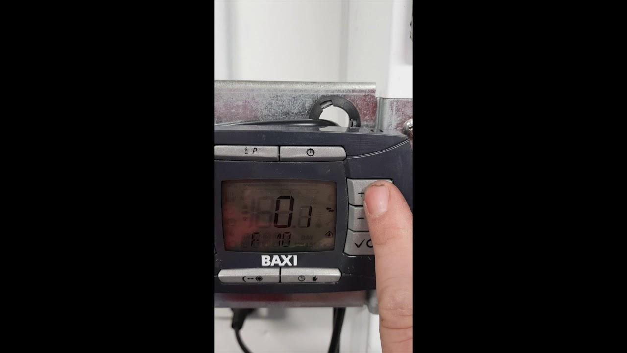 programming a baxi luna 3 boiler for external thermostat [ 1280 x 720 Pixel ]
