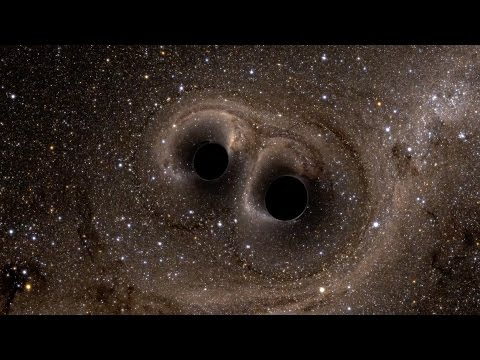 Two Black Holes Merge into One YouTube