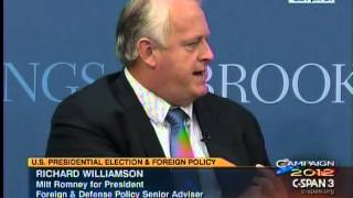 Mitt Romney's Foreign Policy Senior Advisor, Rich Williamson, Refers to Russia as