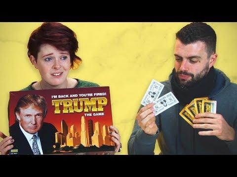 Irish People Play The Trump Board Game