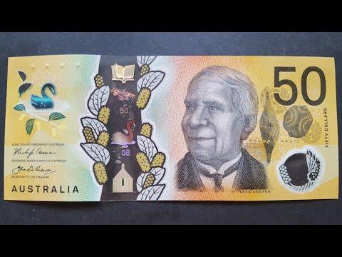 New Australian $50 Banknote 2018