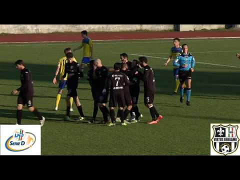 Virtus Bergamo 1909-Levico Terme 2-0, Ultima d'andata girone B Serie D 2016/2017