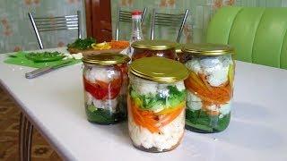 видео Рецепты заготовки из цветной капусты на зиму