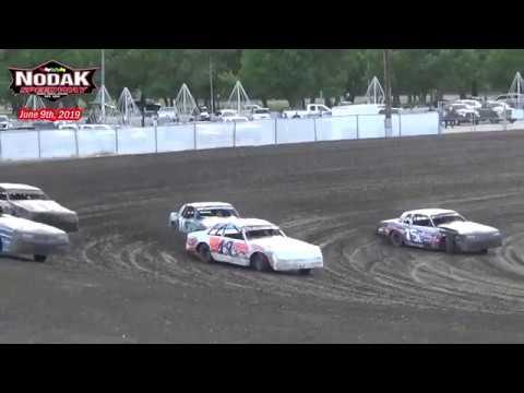 Nodak Speedway IMCA Hobby Stock Heats (6/9/19)