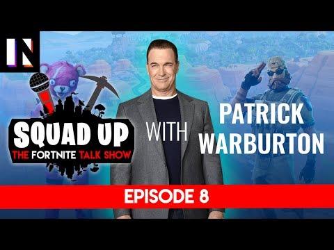 Patrick Warburton plays Fortnite on Squad Up | Inverse