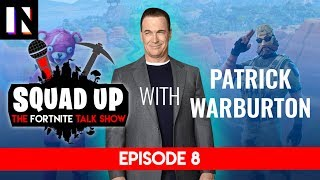Patrick Warburton plays Fortnite on Squad Up | Inverse