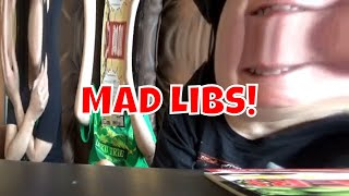 Mad Libs fun With The Guillory's! Marvel And DC Comics!