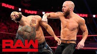 Ricochet vs. Mike Kanellis: Raw, Sept. 16, 2019