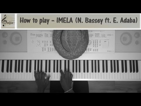 How to play Imela by Nathaniel Bassey [JDS Piano Tutorial]