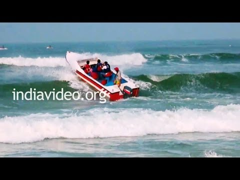 Boating in Calangute, Goa