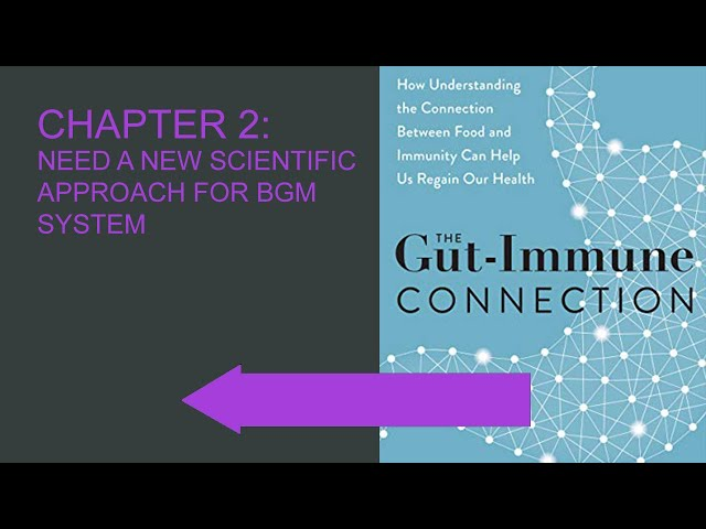 Chapter 2: The Gut Immune Connection - Need A New Scientific Approach for BGM System