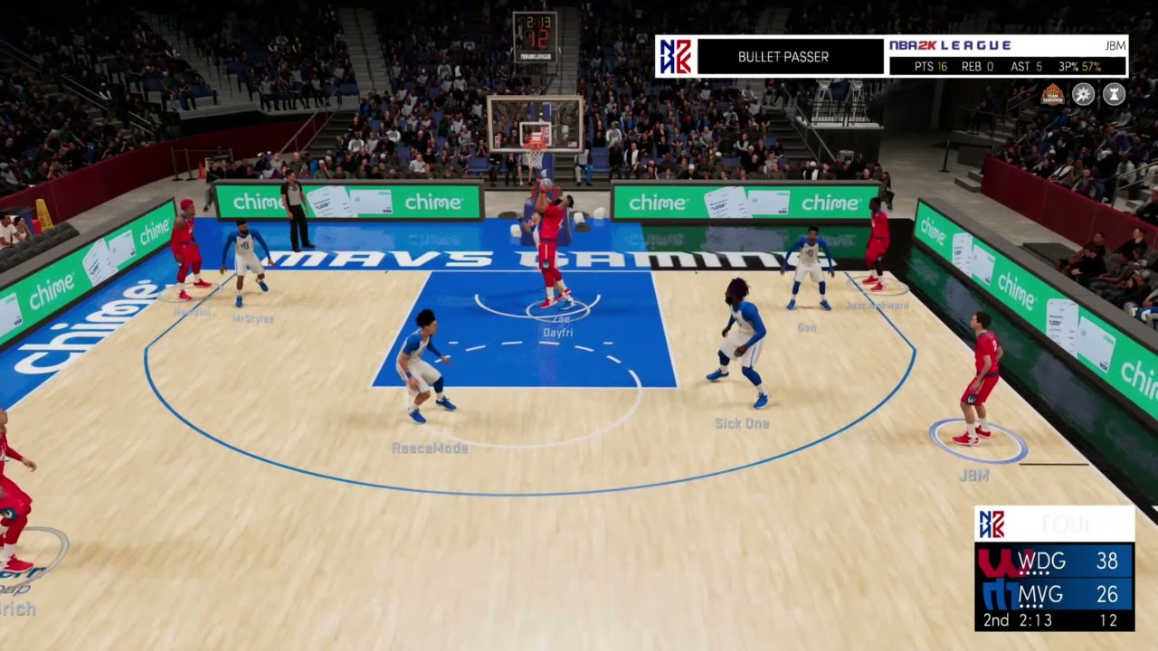 Highlights: Wizards District Gaming takes down Mavs Gaming in Game 1, 71-68 7/29/2021