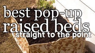 Best Pop-up Raised Beds - Straight To The Point