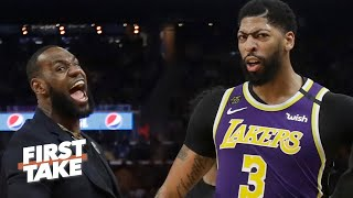 Is Anthony Davis being underappreciated because of LeBron? First Take debates