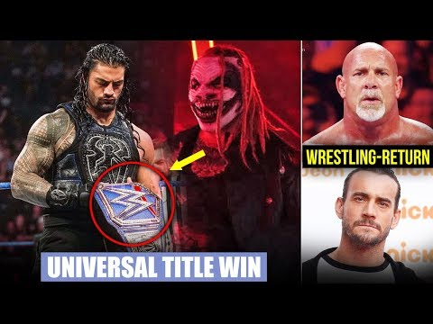 Big Universal Title Plans REVEALED*, Roman Pin. Fiend, Goldberg Wrestling Return, CM Punk WWE Return