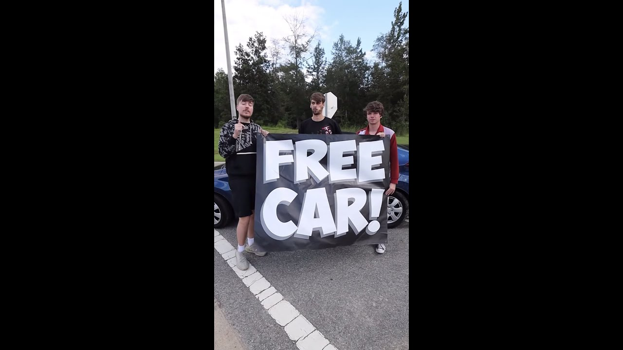 Giving A Random Person A Car For No Reason