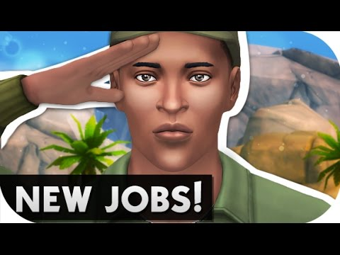 THE SIMS 4 // MOD REVIEW | NEW JOBS! MILITARY, EDUCATION + FASHION!