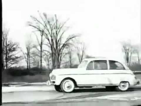 Henry Ford's 'plastic hemp car' from 1941