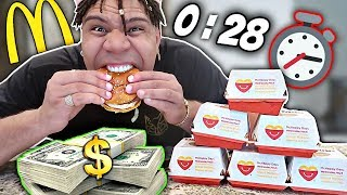 Eat The BIG MAC in 40 Seconds - WIN $10,000