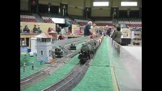 Atlantic Coast S Gaugers ACSG run S gauge trains at the Greenberg Train Show
