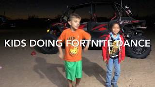 Fortnite Dance At Glamis October 17th 2018. Kids Wanted To Go On 244hp Upgraded Turbo RZR With Me