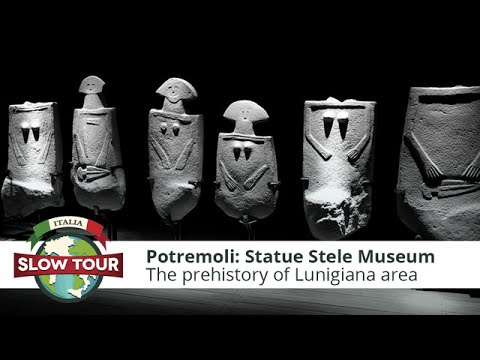 Pontremoli: Statue Stele Museum   Italia Slow Tour