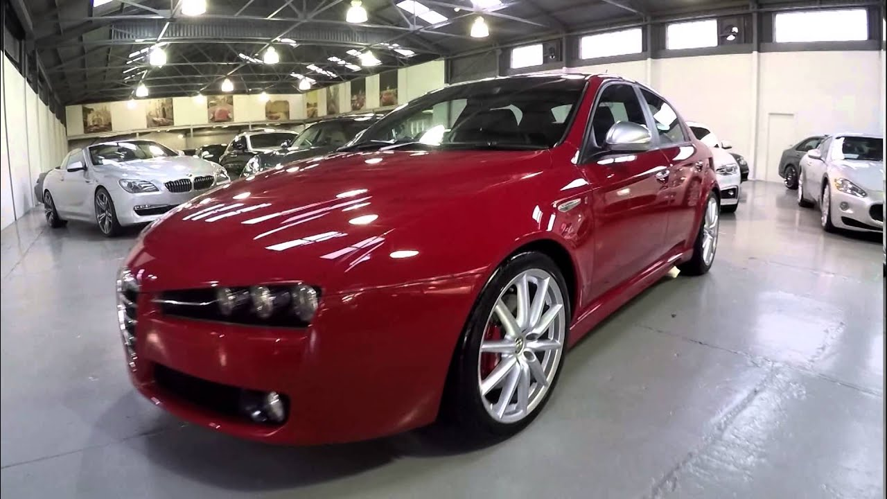 alfa romeo 159 2 2 jts ti red 2007 sn1010865 youtube. Black Bedroom Furniture Sets. Home Design Ideas