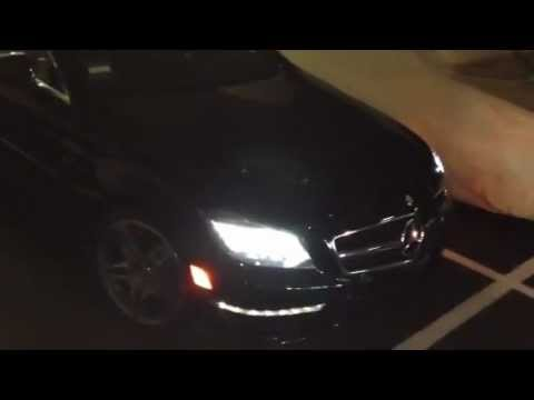 2012 Mercedes CLS 63 AMG Straight Pipes - LOUD
