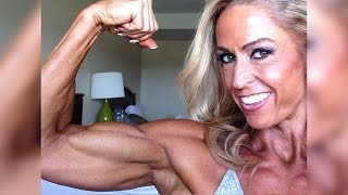 45 years young IFBB Pro Michelle Brown - Fit over 40