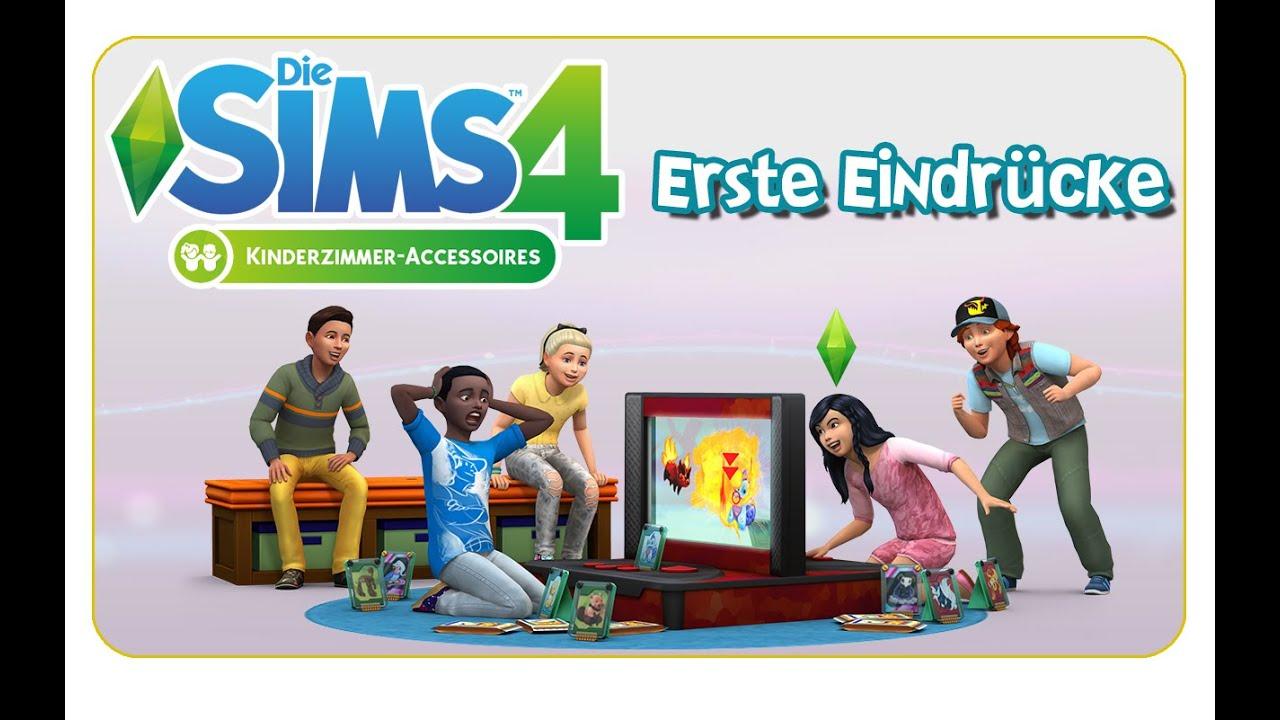 die sims 4 kinderzimmer accessoires erste eindr cke