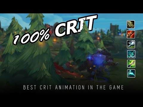 Curb stomping with 100 % Crit Sion in ranked