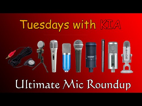 THE ULTIMATE CHEAP MICROPHONE ROUNDUP! | Tuesdays with KIA - FIlm Making