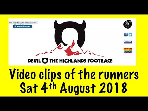 2018 Devil o' the Highlands Race