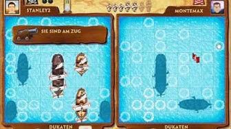 Piraten / Schiffe versenken online spielen (Gameduell)