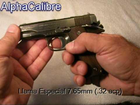 Llama Especial 7.65mm / .32 acp Gabilondo y Compañía - Elgoibar, España
