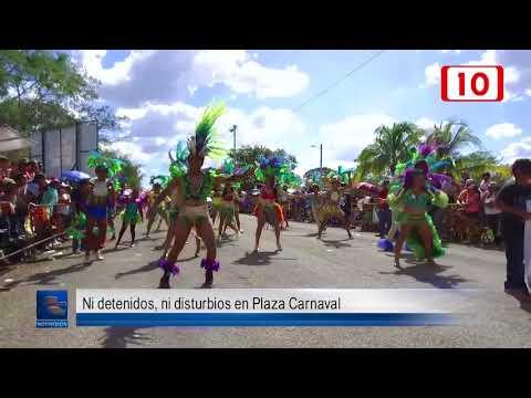 Ni detenidos, ni disturbios en Plaza Carnaval