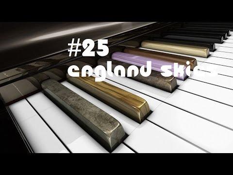 #25 England Skies (Shake Shake Go) [PianoCover]   TRiS