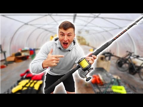 World's BIGGEST Fishing GARAGE SALE (Secret Finds!)