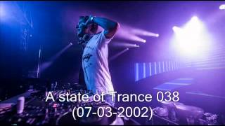 A State of trance épisode 038 (07-03-2002) Part1