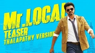 Mr.Local Teaser Vijay Version
