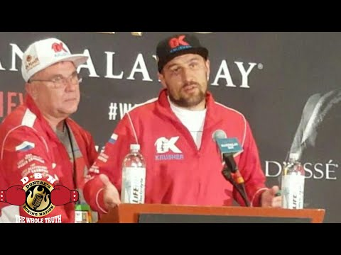 "KOVALEV: ""WARD WAS MUCH BETTER THAN LAST FIGHT"""