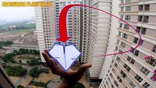 Cách gấp máy bay boomerang ver 32 | How to make boomerang palne | boomerang plane king #xtt