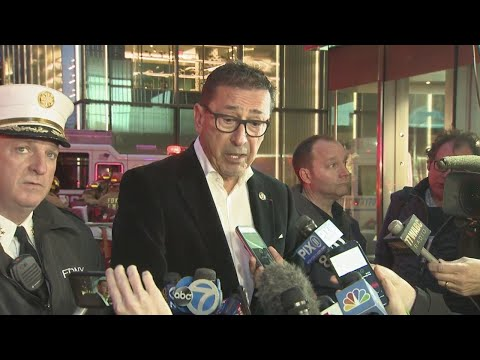 FDNY Update On Trump Tower Fire