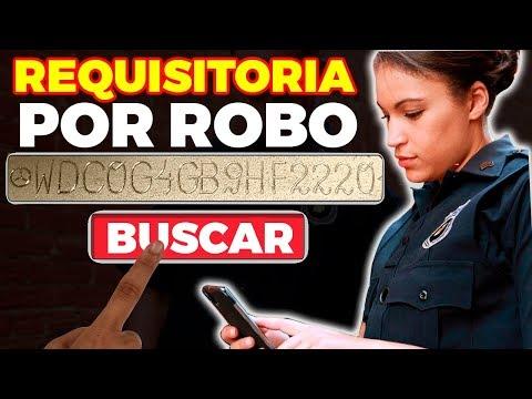 COMO AVERIGUAR ANTECEDENTES de un CARRO por ROBO ⇒ REPORTE de ROBO por SERIE de chasis (NÚMERO VIN)