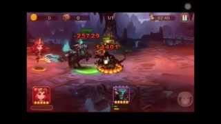 League of Angels:Fire raiders : Epic fight Headless Horseman vs Hell hound