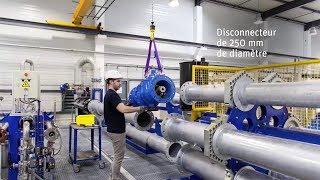 Essais hydrauliques sur disconnecteur